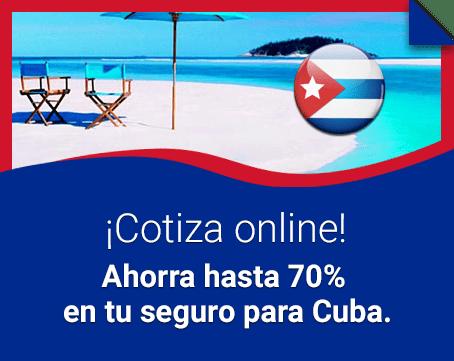 Seguro obligatorio para Cuba