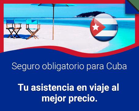 Asistencia en viaje para Cuba