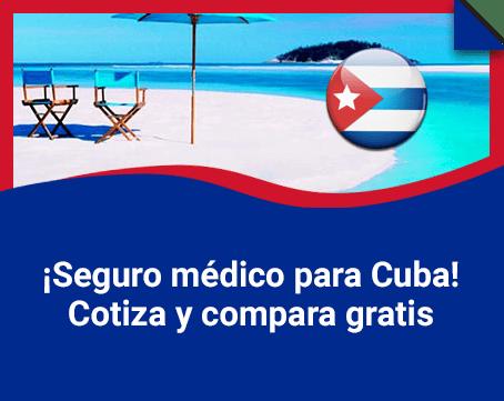 Seguro medico para Cuba