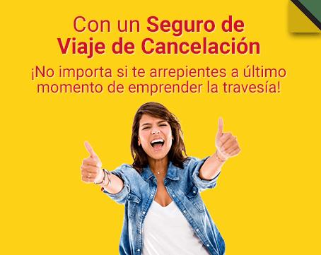 Seguro de Viaje de Cancelación